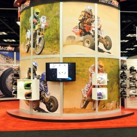 LS2 Larger Custom Trade Show Booth