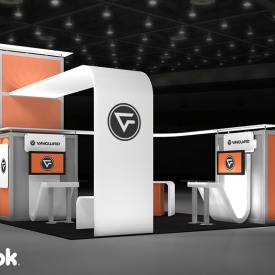 Vanguard 20x20 Custom Trade Show Booth