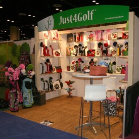 Just4Golf 10x10 Custom Trade Show Booth