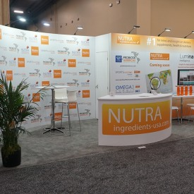 Nutra Ingredients 10x20 Custom Trade Show Booth