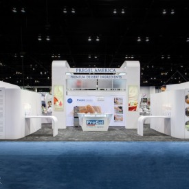 PreGel America Larger Custom Trade Show Booth