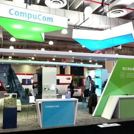 CompuCom Custom Trade Show Booth