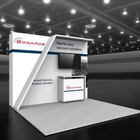 Edwards 10x10 Custom Trade Show Booth