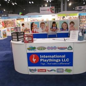 International Playthings Larger Custom Trade Show Booth