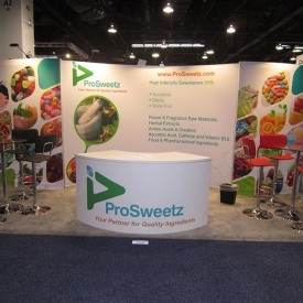 ProSweetz 10x20 Custom Trade Show Booth