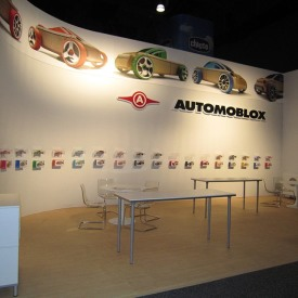 Automoblox Larger Custom Trade Show Booth