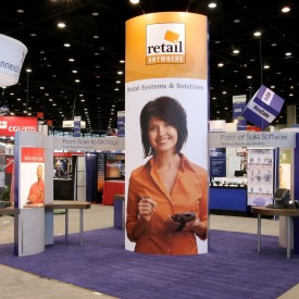 Retail Anywhere Larger Custom Trade Show Booth