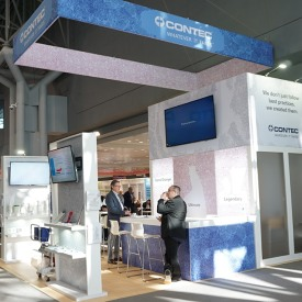 Contec Custom Trade Show Booth