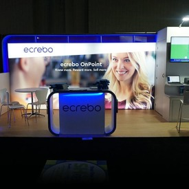 Ecrebo 10x20 Custom Trade Show Booth