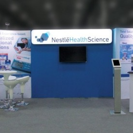 Nestle Health 10x20 Custom Trade Show Booth