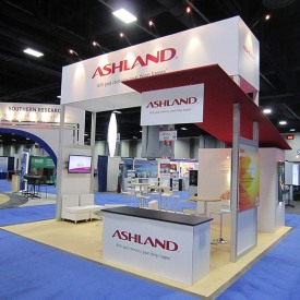 Ashland 20x20 Custom Trade Show Booth