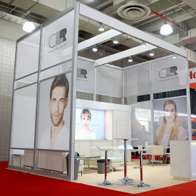 CLR 20x20 Custom Trade Show Booth
