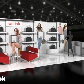 Red Ink 10x20 Custom Trade Show Booth