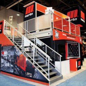 Martin Larger Custom Trade Show Booth