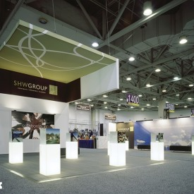 SHW Group 20x20 Custom Trade Show Booth