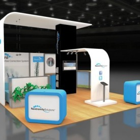 Nextremity Solutions 20x20 Custom Trade Show Booth