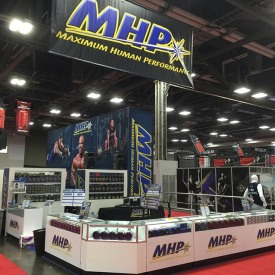 MHP Larger Custom Trade Show Booth