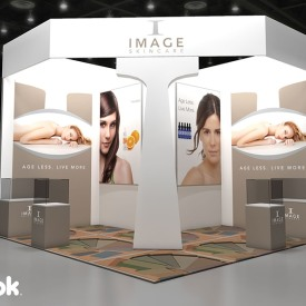 Image Skincare 20x20 Custom Trade Show Booth